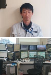 岡本土石工業株式会社 生コンクリート部 四日市工場 工場長 金沢様